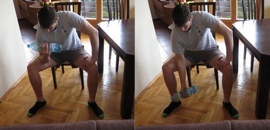 cwiczenia bez sprzetu na biceps w domu
