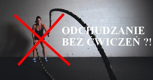 jak szybko schudnąć bez ćwiczeń