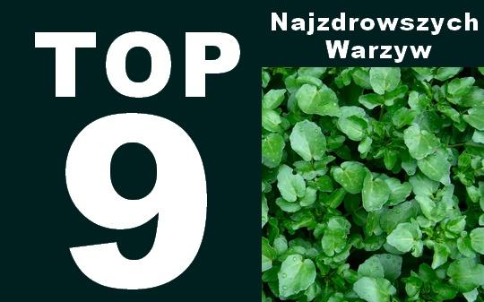 ranking warzyw